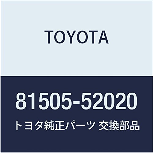 Genuine Toyota 81505-52020 Stop Lamp Assembly