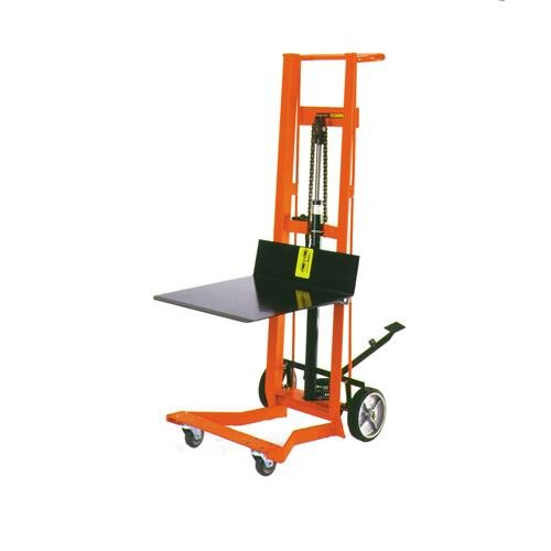 WESCO 260009 Platform Lift Hand Trucks, Hydraulic Pedal Lift, Two 8