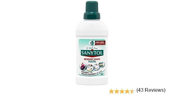 Sanytol Desinfectante para Ropa, Elimina Bacterias y Malos Olores ...