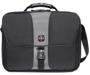 Wenger Avenues Computer Case - Wenger SIERRA from Swiss Gear Single Gusset Computer Bag