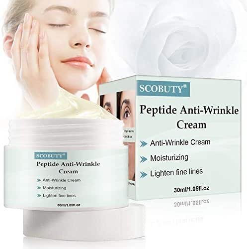 Anti Aging Cream,Peptide Wrinkle Cream,Anti-Wrinkle Cream,Anti-Aging Face Moisturizer Cream,Firming, Moisturizing,Lightening Wrinkles,Fights the Appearance of Wrinkles, Fine Lines,Best Day and Night
