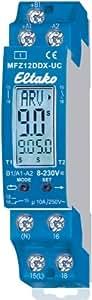 Eltako MFZ12DDX-UC - Relé de tiempo multifunción