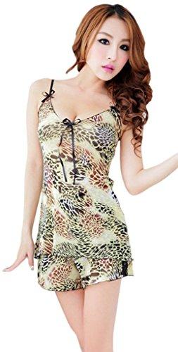 Xiang Ru Des Femmes De Dentelle Lingerie Babydoll Vêtements De Nuit Sous-vêtements En Maille Vêtements De Nuit B: Floral
