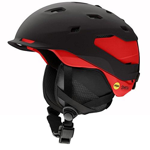 Smith Optics Quantum-Mips Adult Ski Snowmobile Helmet - Matte Black/Rise/Medium ()
