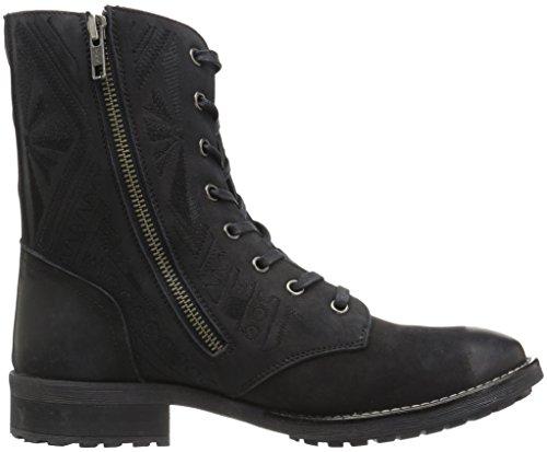 Musse & Cloud Cors Combat Boots Zwart Voor Dames