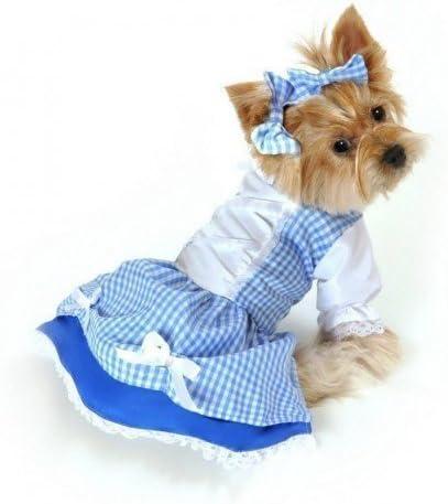 niña Mascota Perro Gato Dorothy Mago de Oz Disfraz de Halloween ...