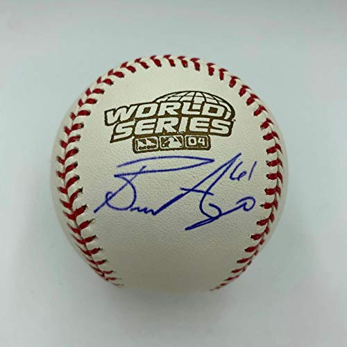 Bronson Arroyo Autographed Ball - Official 2004 World Series - Autographed Baseballs
