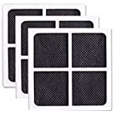 [3 PACK] GoldTone Brand Replacement Refrigerator Air Filter fits LG LT120F, Kenmore Elite 469918, ADQ73214402, ADQ73214404. Replaces your LG Refrigerator Air Filter & Kenmore Refrigerator Air Filter