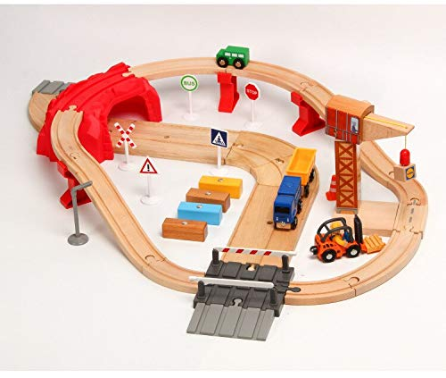 Diecasts Toy Vehicles -New One Set Wood Railway Train Car Slot Railway Toy Kids Gifts Toys from Fedi