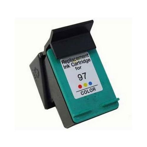 HP C9363WN (HP 97) Color Premium Quality Re-Manufactured Inkjet Cartridge for Deskjet 5740, 6520, 6540, 6620, 6830, 6840, 9800 Series; Officejet 6200, 6210, 7210, 7310, 7410 Series; Photosmart 325, 335, 375, 385, 475, 8150, 8450, 8750 Series; PSC 1600 6830 Series