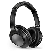 INLIFE Bluetooth Headphones Over Ear Stereo Wireless Headset, Foldable, Noise Cancelling, Built-in Mic and Wired Mode for PC/CellPhones/TV