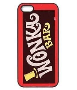 EBestAmShop(TM) Carcasa de Plástico Reforzado Creative Funny Willy Wonka Chocolate Bar Design Best Funda Carcasa Protectora Para Apple iPhone 5C
