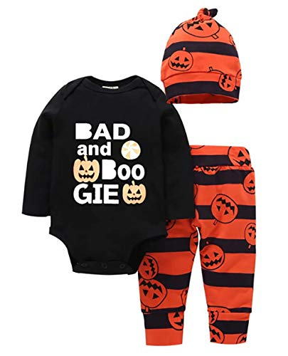 Toddler Baby Boys Girls Halloween Outfit Bad Boogie