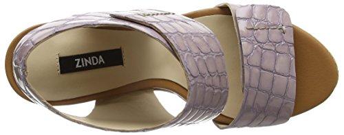 Zinda 2090 - Sandalias de Plataforma Mujer Violeta