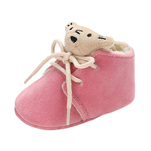 SMALLE ◕‿◕ Clearance,Baby Girl Boy Soft Bootie Small Bear Bandage Snow Boots Toddler Warm Shoes from SMALLE