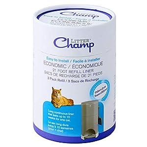 Litter Champ 3-Pack Refill, Green 74