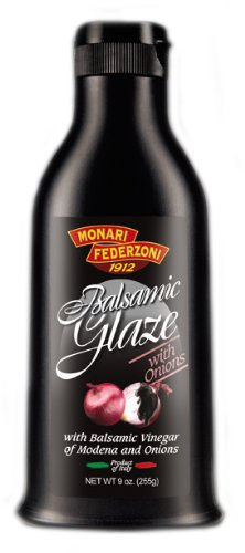 Monari Balsamic Glaze with Onions, 9-Ounce (Pack of 3)