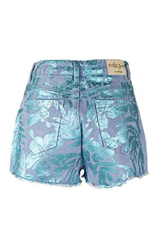 Desigual Shorts Femme Aloha Denim Clair 19swdd14 qSqUr06wf