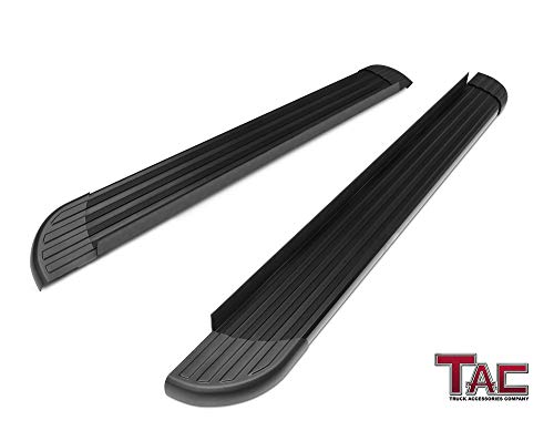 - TAC Running Boards Fit 2011-2019 Dodge Durango Value Aluminum SUV Black Side Steps Nerf Bars (Excl. R/T Models) Step Rails Running Boards Off Road Exterior Accessories (2 Pieces Running Boards)
