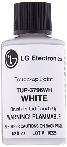 LG TUP-3796WH White Touchup Paint (Lg Black Stainless Steel Touch Up Paint)