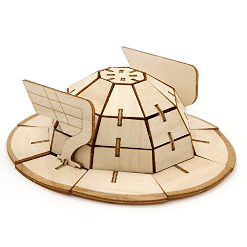 """DC The Flash Book 3D Wood Model Kit - Build, Paint Collect Your Own Wooden Model - Great Kids Adults, 10+ - 5"""" from IncrediBuilds"""