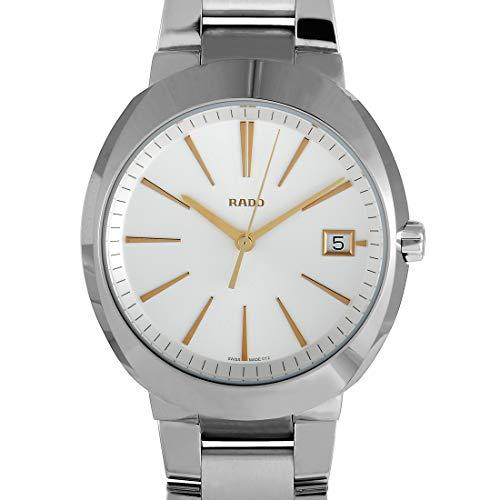 c8af8df5b Rado Men's R15943123 D Star XL Analog Display Swiss Quartz Silver Watch