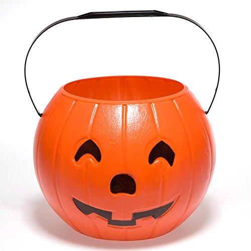 Jack O Lantern Candy Bucket (Classic Jack O Lantern)