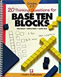 img - for Twenty Thinking Questions for Base Ten Blocks (Twenty Thinking Questions) book / textbook / text book