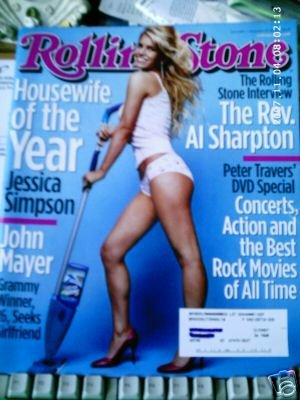 rolling stone magazine (JESSICA SIMPSON ISSUE) #936---NOVEMBER 27TH, 2003
