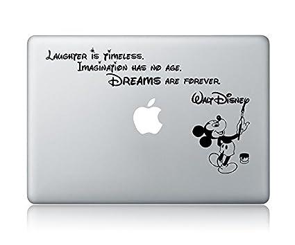 2ca2d323076 Amazon.com  Disney Quote Macbook Laptop Decal Vinyl Sticker Apple ...