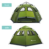 MOON LENCE Instant Pop Up Tent Family Camping