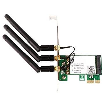 CUHAWUDBA 450M Dual Banda Wie5300 5Ghz/2.4Ghz Pci-E ...
