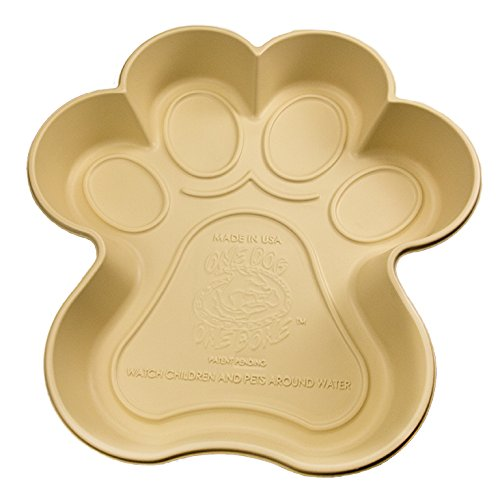 One Dog One Bone SPP03 Paw Shaped Dog Pool Made...