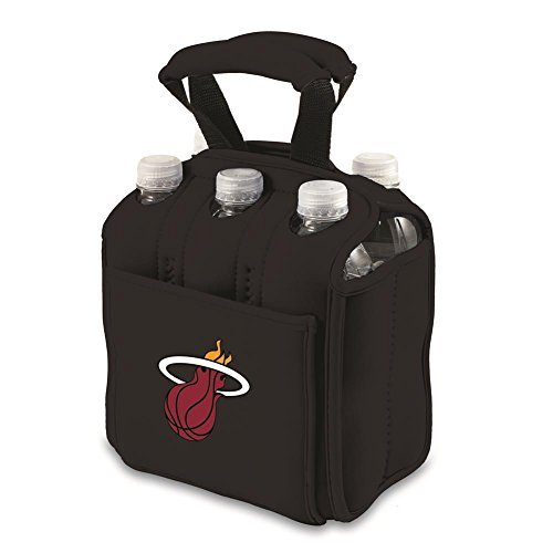 NBA Six Pack Insulated Beverage Tote by Picnic Time by PICNIC TIME