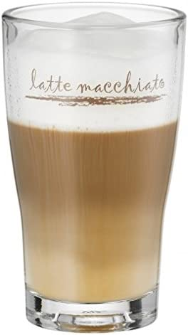 WMF 954142040 Barista Latte Macchiato Glasses Set of 2 Assorted