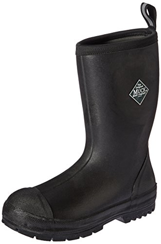 Muck Boot Men's Chore Resistant Mid Work Boot, Black, 13 M US by Muck Boot (Image #1)