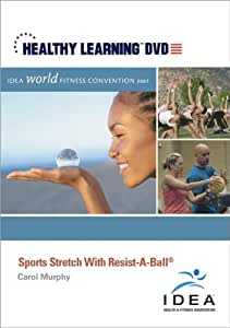Sports Stretch With Resist-A-Ball