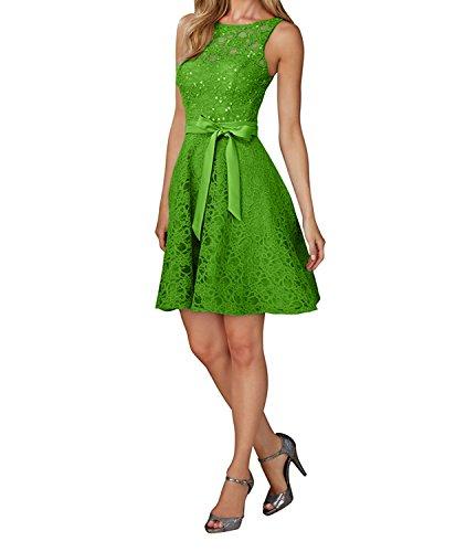 Kurz Abendkleider Pailletten Cocktailkleider Damen Kleider Brautjungfernkleider 2017 Neu Gruen Charmant Apfel Spitze Rosa AFCwRqB1