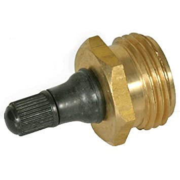Camco 36153 RV Brass Blow Out Plug