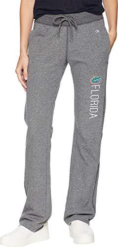 Champion College Women's Florida Gators University Fleece Open Bottom Pants Granite Heather Medium ()