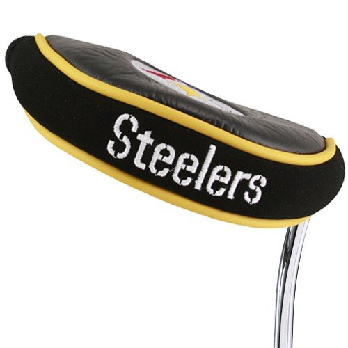 (Team Golf NFL Pittsburgh Steelers Golf Mallet Putter Cover)