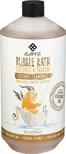 ALAFFIA Coconut Bubble Bath, 32 FZ