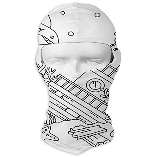 Balaclava Sunken Ship Full Face Masks Ski Motorcycle Neck Hood Cycling