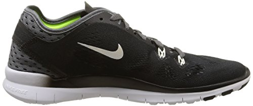 Black Chaussures White Damen de NIKE Laufschuhe TR Fit 0 Noir Femme Course dark 001 Grey 5 Free wOOH0q74
