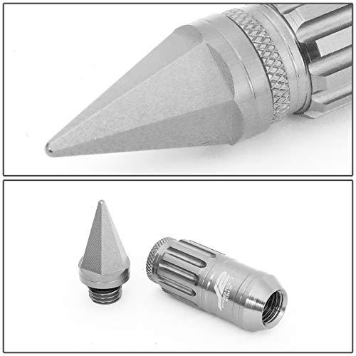 60mm Open End Lug Nut w//4Pcs Lock+Key J2 Engineering LN-T7-010-15-BL Blue 7075 Aluminum M12X1.5 16Pcs L