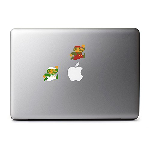 retro-8-bit-mario-and-luigi-jumping-decals-from-super-mario-brothers-for-macbook-iphone-5s-samsung-g