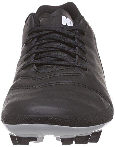 Nike Tiempo Genio Ii Leren Ag-r Heren Voetbalschoenen 819711 Voetbalschoenen Zwart Wit 010
