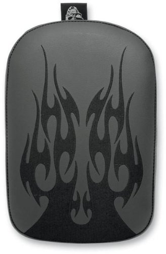 Phantom Pad SE302VFB Black Large Solid Embroidery Vinyl Flame Pad