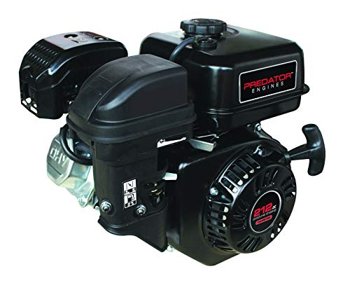 Predator 6.5 HP 212cc OHV Horizontal Shaft Gas Engine NOT Certified for California; Fuel Shut Off and Recoil Start