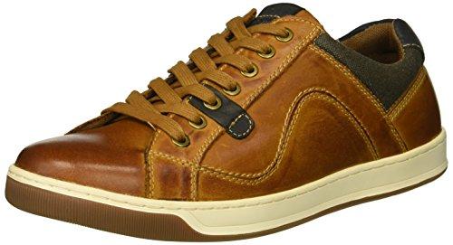 Steve Madden Men's CHATER Sneaker Rust Leather 10 M US